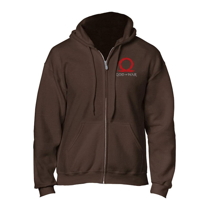 God of War - Hooded Sweater - Serpent Logo