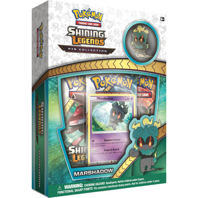 Pokémon - Shining Legends - Marshadow Pin Collection