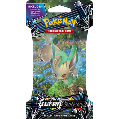 Pokémon Sun & Moon - Ultra Prism - Sleeved Booster