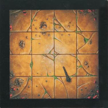 Warhammer Quest – Floor Tile – 4×4 Room