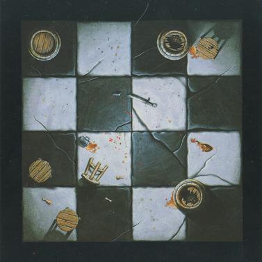Warhammer Quest – Floor Tile – 4×4 Room