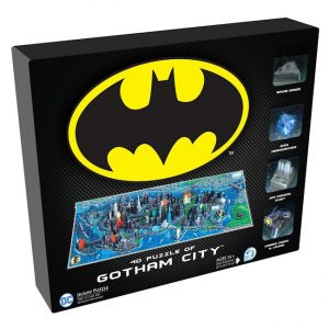 Batman - 4D Mini Puzzle - Gotham City (839 pieces)