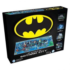 Batman - 4D Large Puzzle - Gotham City (1550+ pieces)