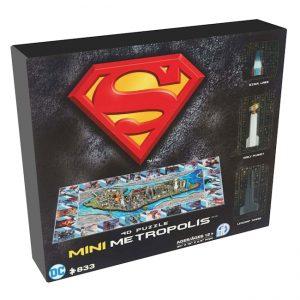 Superman - 4D Mini Puzzle - Metropolis (833 pieces)