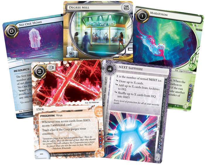 Android Netrunner LCG - Council of the Crest