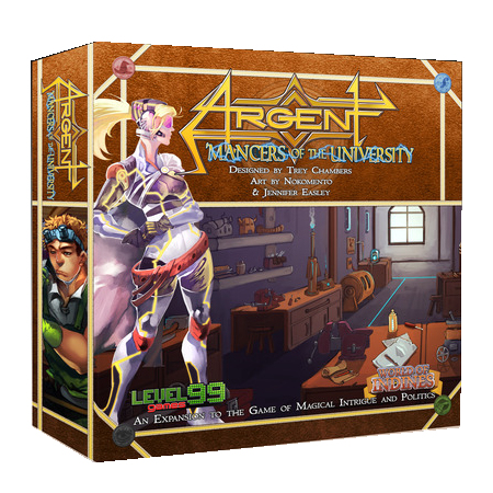 Argent Mancers of the University 2nd edition