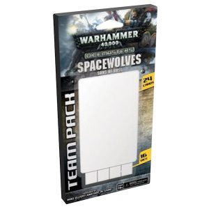 DC Dice Masters - Space Wolves Team Pack