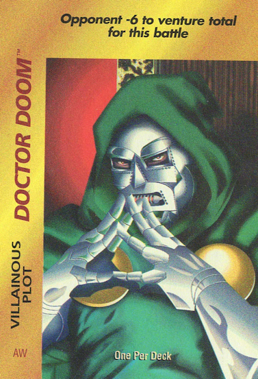 Doctor Doom – Villainous Plot