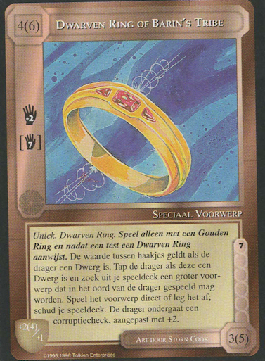 Dwarven Ring of Barin's Tribe