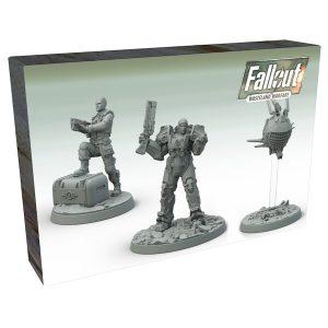 Fallout Wasteland Warfare - Captain Cade and Paladin Danse