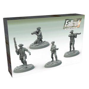 Fallout Wasteland Warfare - Survivors - Minutemen Posse