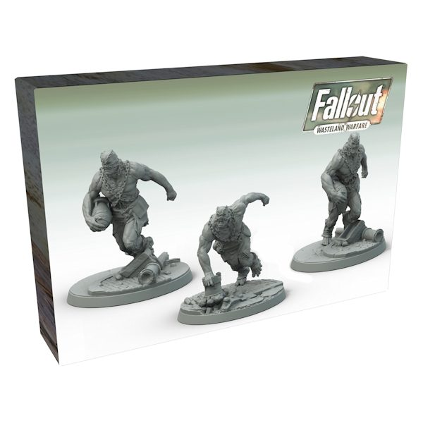 Fallout Wasteland Warfare Super Mutants Suiciders Game Miniatures Minis New!