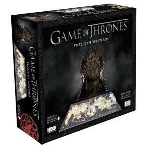 Game of Thrones - 3D Puzzle - Westeros (1500 pieces)