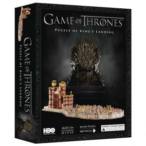 Game of Thrones - 3D Puzzle - King's Landing (260 pieces)
