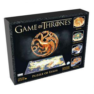 Game of Thrones - 3D Puzzle Essos - (1350 pieces)