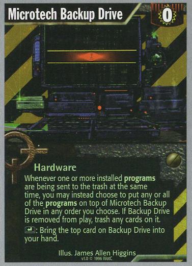 Microtech Backup Drive