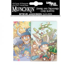 SLEEVES - Munchkin Doors and Treasures