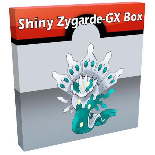 Pokémon Shiny Zygarde-GX Box