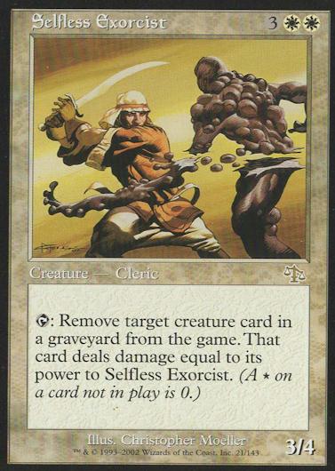 Selfless Exorcist