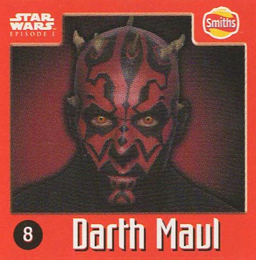 Smiths Punten - Star Wars - Episode I - 8-Darth Maul