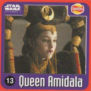 Smiths Punten – Star Wars – Episode I – 13-Queen Amidala