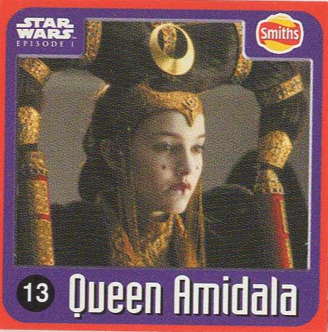 Smiths Punten - Star Wars - Episode I - 13-Queen Amidala
