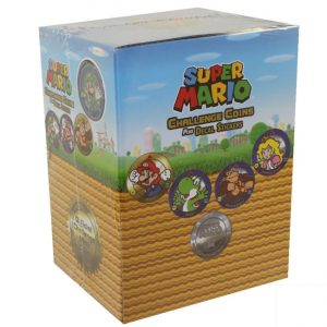 Super Mario Challenge Coin - Display Box