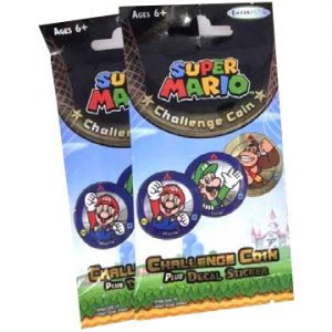Super Mario Challenge Coin - Single Pack