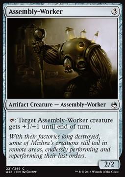 Assembly Worker (Foil)