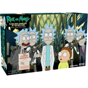 Close Rick-Counters of the Rick Kind – Deck-Building Game