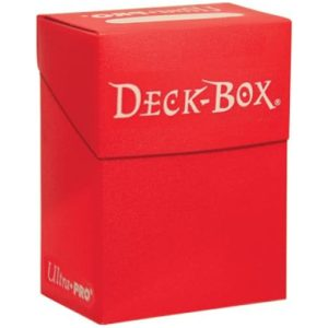 Deckbox - Solid - Red