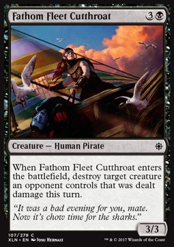 Fathom Fleet Cutthroat (Foil)