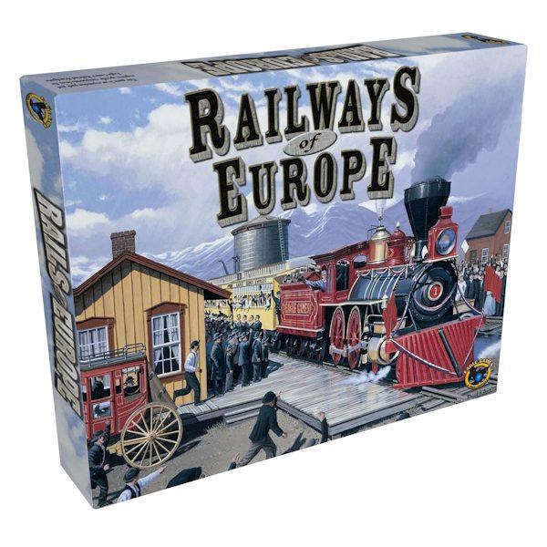 Railways of Europe 2017 Ed.