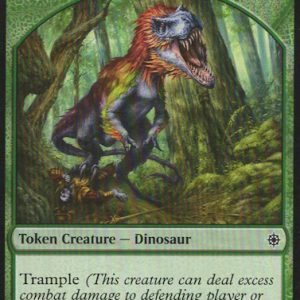 4x Dinosaur token