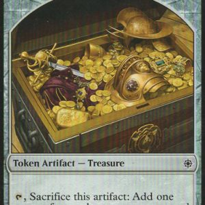 4x Treasure token - One of each version
