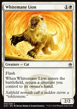 Whitemane Lion (Foil)