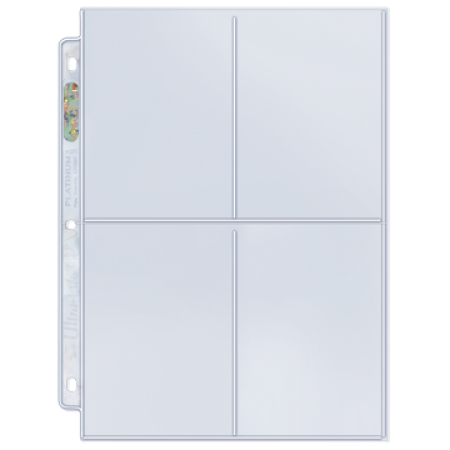 4-Pocket Platinum Page Pockets