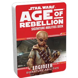 Star Wars Age of Rebellion - Engineer Signature Abilities Deck