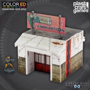 Infinity ColorED - Miniature Gaming Model Kit - 28 mm Armory - Building
