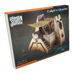 Caliph's Quarter - Infinity ColorED - Miniature Gaming Model Kit - 28 mm Building
