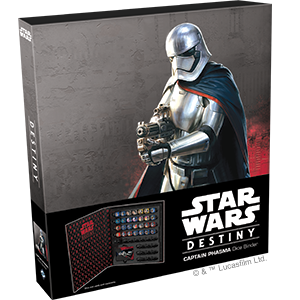 Star Wars Destiny – Captain Phasma Dice Binder