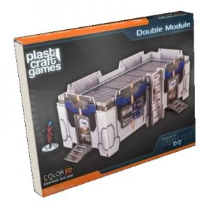 Double Module - Infinity ColorED - Miniature Gaming Model Kit - 28 mm Building