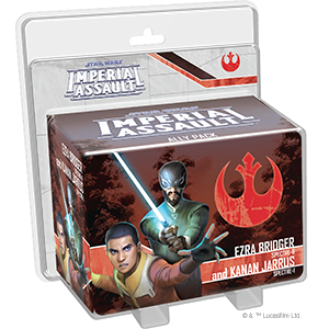 Imperial Assault - Ezra and Kanan Ally Pack