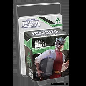 Imperial Assault - Hondo Ohnaka Villain Pack