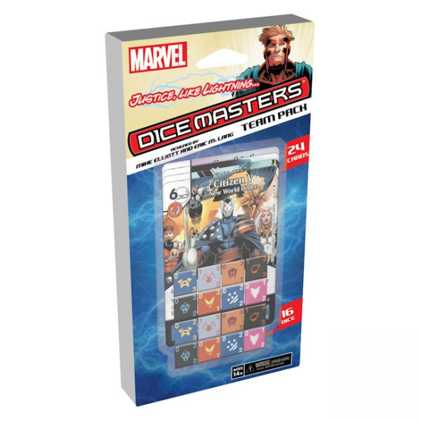 Marvel Dice Masters: Justice, Like Lightning… Team Pack