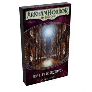 Arkham Horror – The City of Archives – Mythos Pack