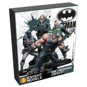 Batman Miniature Game 2nd Edition - Bane & Mercenaries - Starter Set