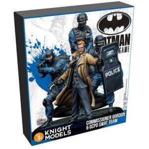 Batman Miniature Game 2nd Edition - Gordon & GCPD Swat team