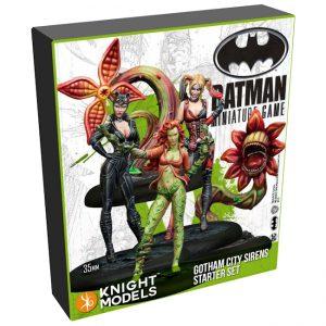 Batman Miniature Game 2nd Edition - Gotham City Sirens - Starter Set