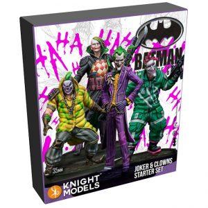 Batman Miniature Game 2nd Edition - Joker & Clowns - Starter Set